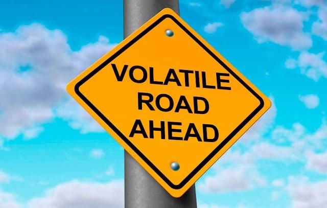 Volatilitatea criptomonedelor s-a dublat in ultimele 2 saptamani