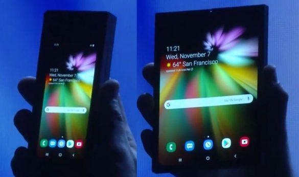 Telefonul care se indoaie - Cel mai scump telefon lansat de Samsung pana acum