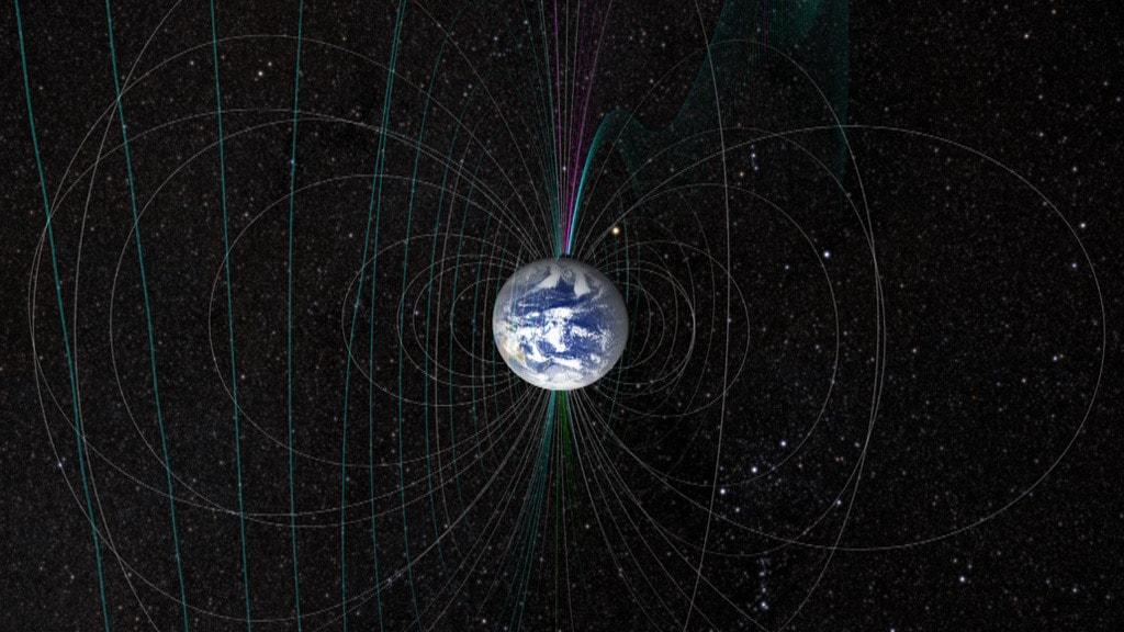 O anomalie misterioasa, descoperita sub Africa, slabeste campul magnetic al Pamantului