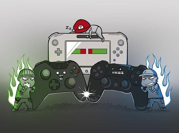 Castigatorii si invinsii razboiului consolelor video in 2018