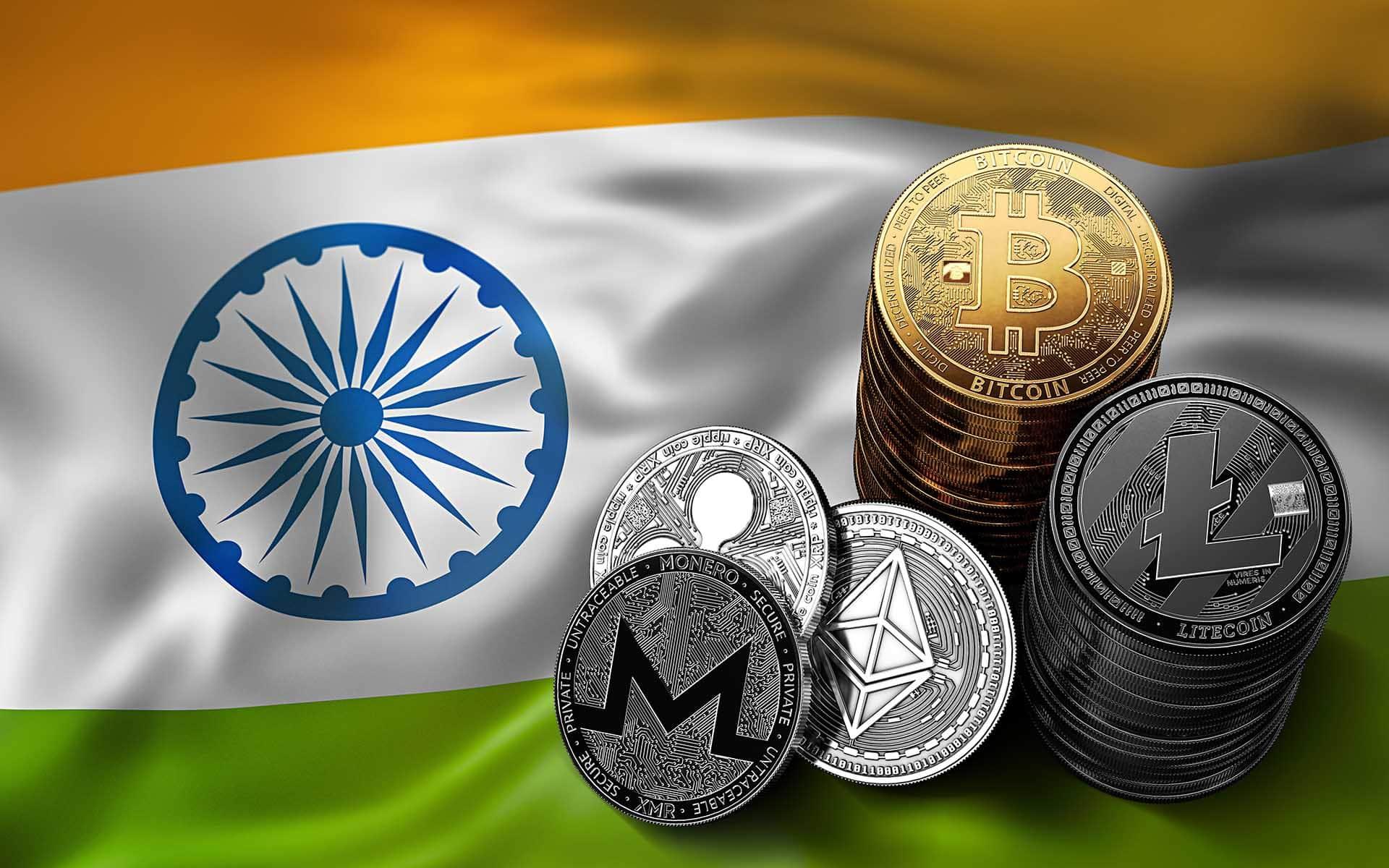 valoarea bitcoin în india