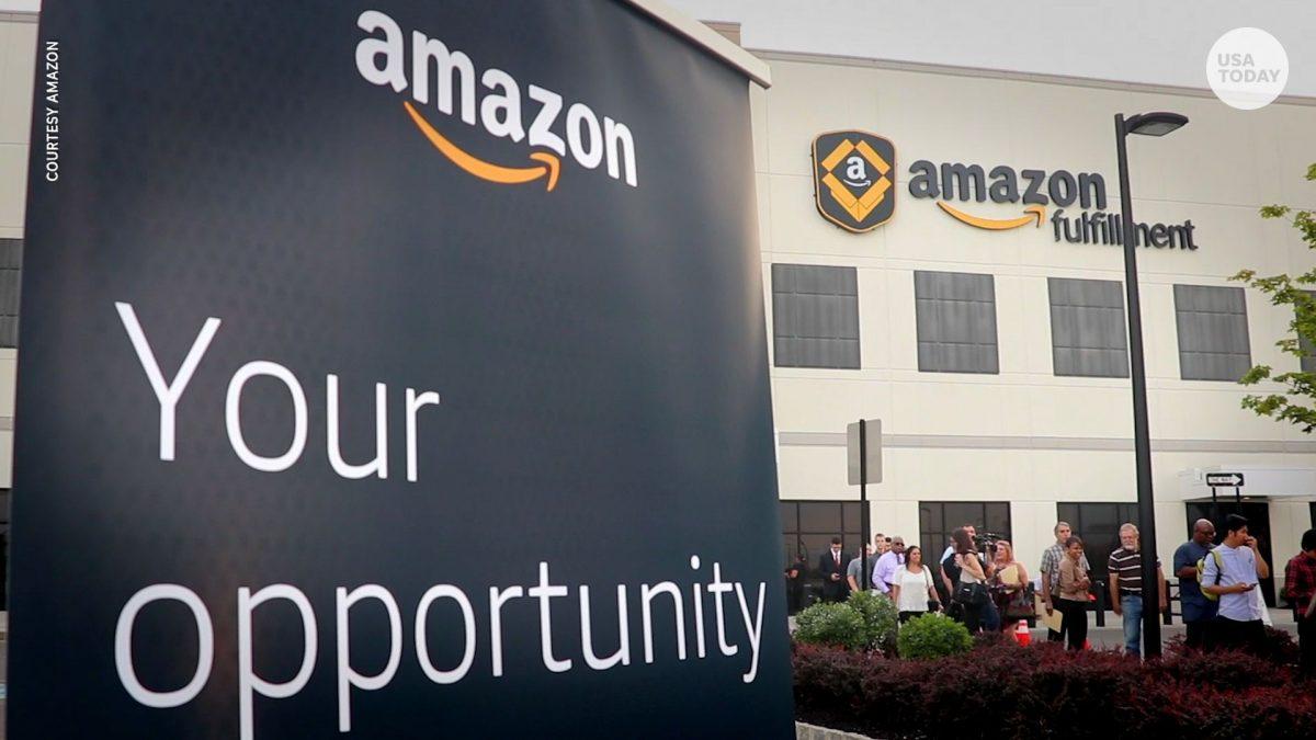 Amazon angajeaza 3000 de oameni care vor lucra de acasa