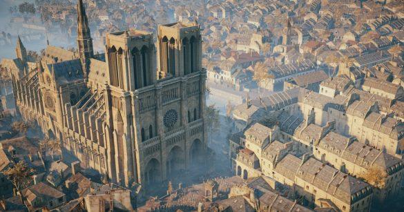 Ubisoft ofera gratuit Assassin's Creed Unity pentru a putea explora catedrala Notre Dame