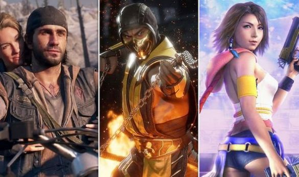 jocuri noi,mortal kombat,cuphead,days gone,final fantasy