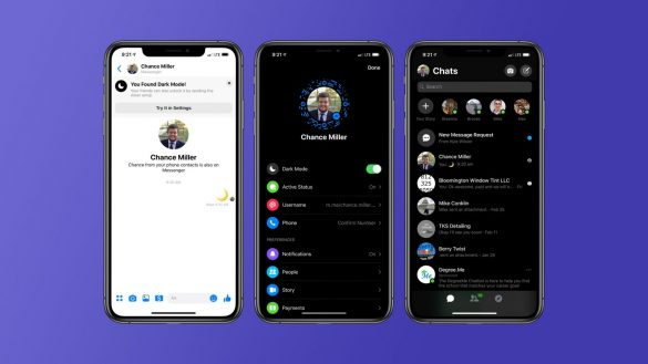 Facebook Messenger Dark Mode - Cum sa il activati