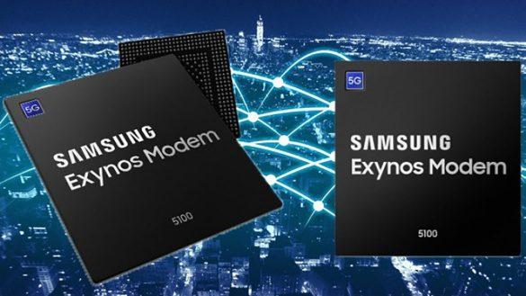 Samsung incepe productia in masa pentru un modem 5G si cipuri RF