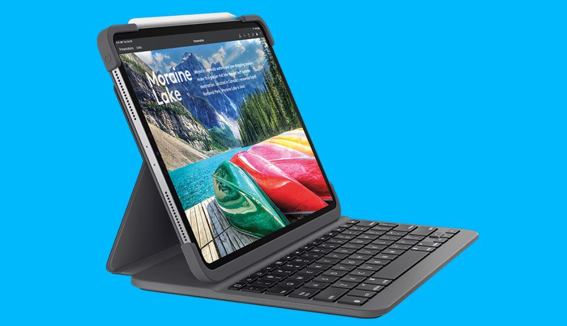 Noul iPad va avea prima sa tastatura Logitech, Slim Folio Pro
