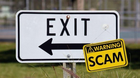 Un nou ICO exit scam de 8 milioane de dolari