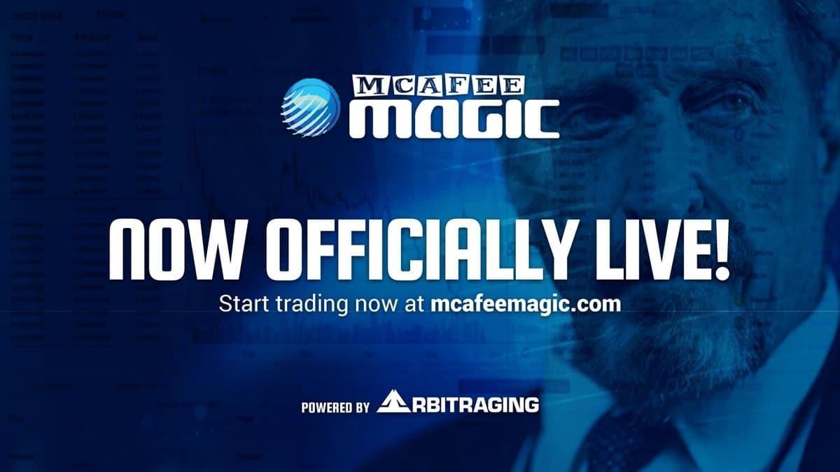 Platforma de tranzactionare a lui McAfee a suferit un atac DOS la lansare