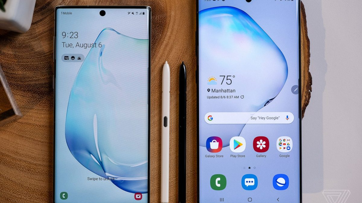 Noile flagshipuri Samsung : Samsung Galaxy Note 10 si Note 10 Plus