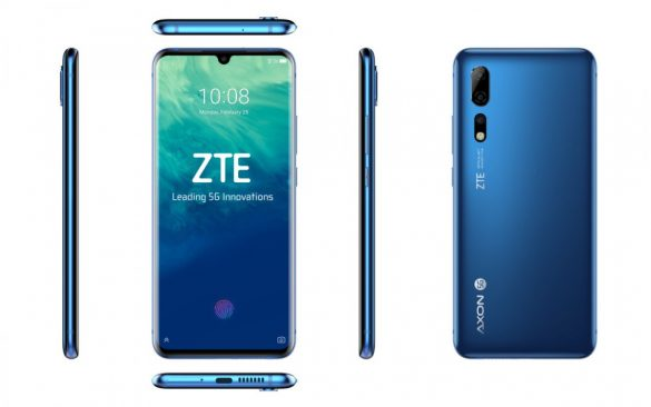 ZTE lanseaza primul telefon 5G in China, Axon Pro 5G