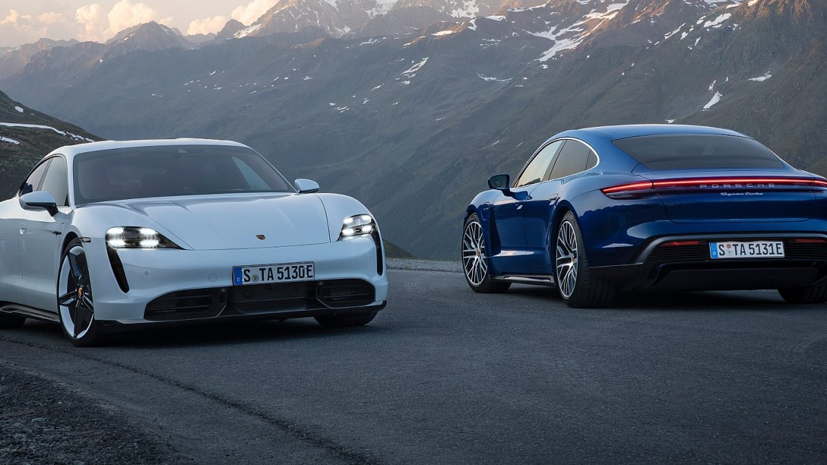 Porsche dezvaluie prima sa masina complet electrica, Porsche Taycan