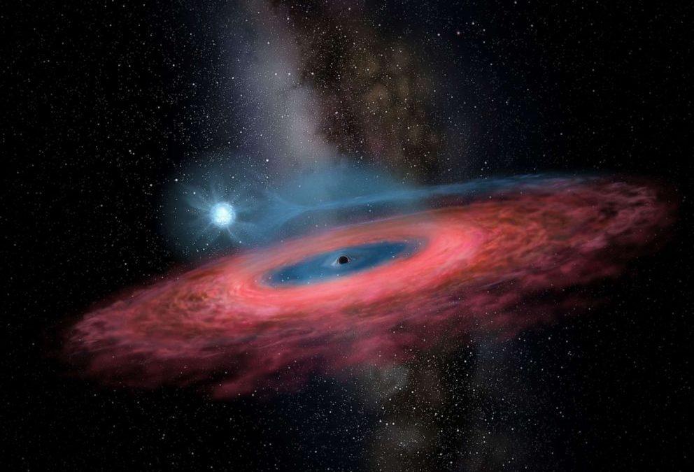 """A fost descoperita o gaura neagra imensa care """"nu ar trebui sa existe"""""""