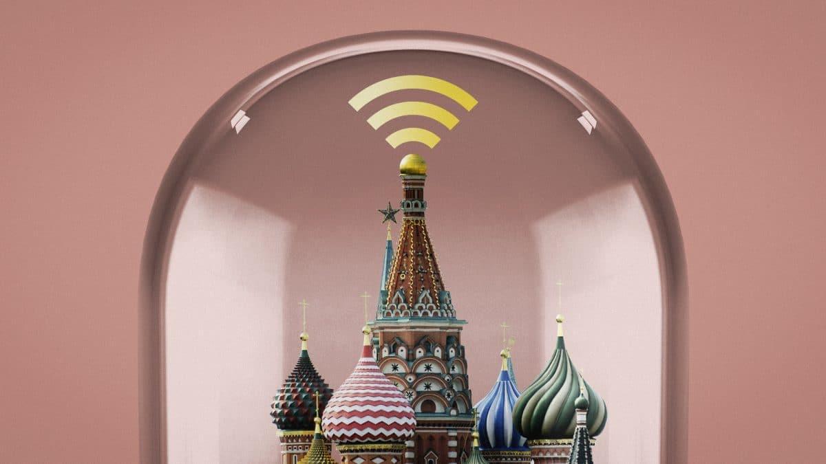 Rusia s-a deconectat de la Internetul mondial