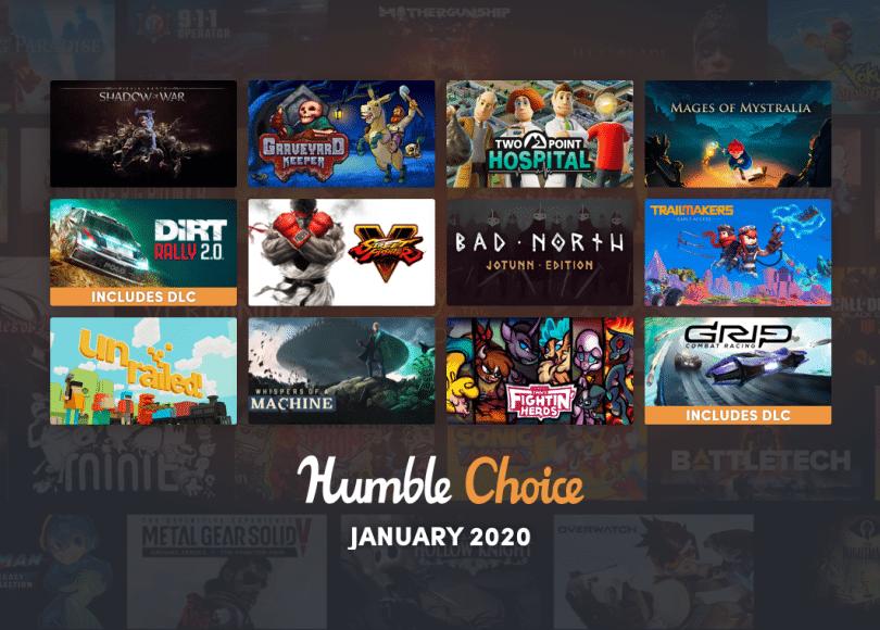 Jocurile din Humble Choice Bundle pentru ianuarie 2020 au fost anuntate