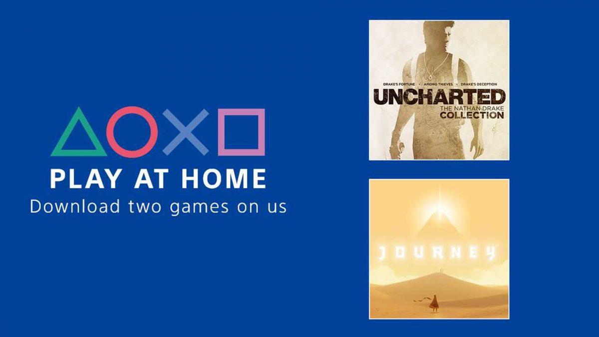 Sony lanseaza initiativa Play At Home, oferind 2 jocuri gratuite pana pe 5 mai
