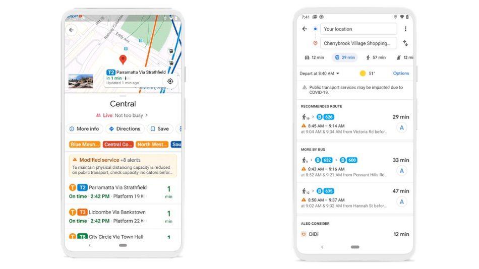 Ultima versiune Google Maps faciliteaza calatoriile pe timpul pandemiei