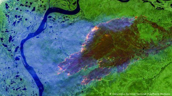 Schimbari climatice extreme - Temperaturi record inregistrate in Siberia