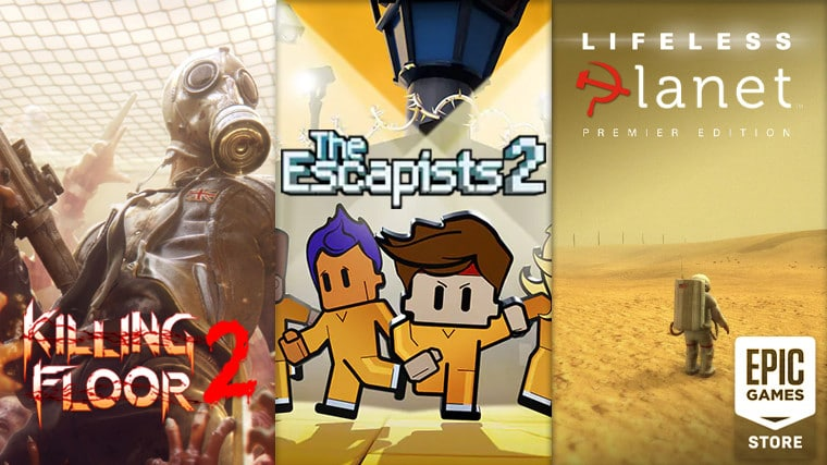 Epic Games Store ofera 3 jocuri gratuite saptamana aceasta