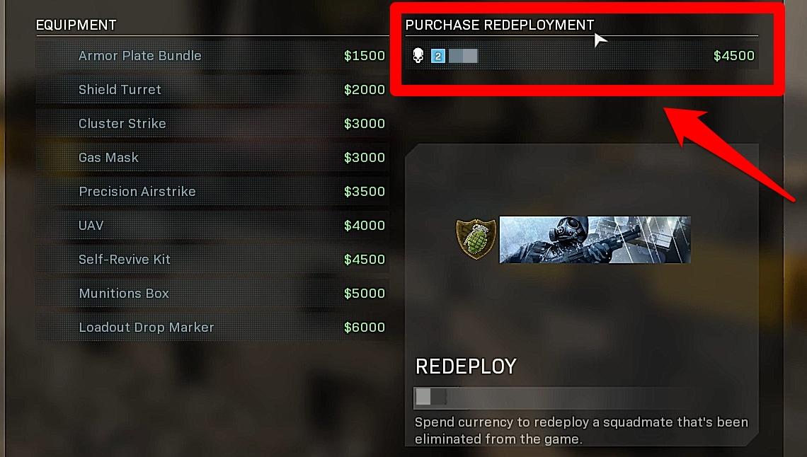 revive cod warzone